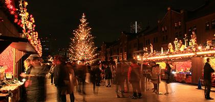 赤レンガ マーケット 横浜 クリスマス