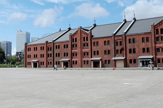 倉庫 赤レンガ